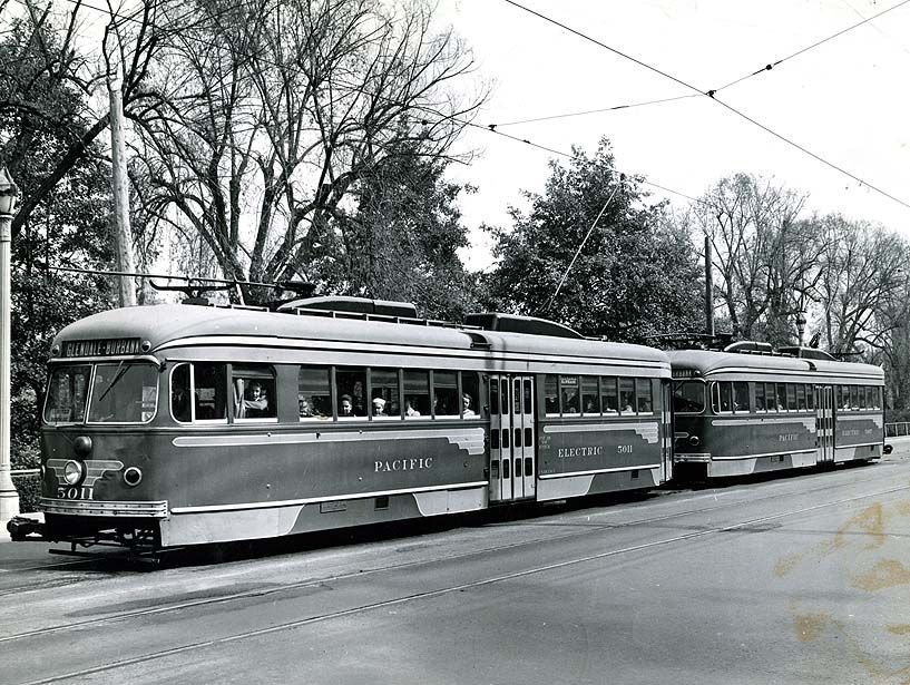 1943 pacific electric rail car 5011 glendaleburbank