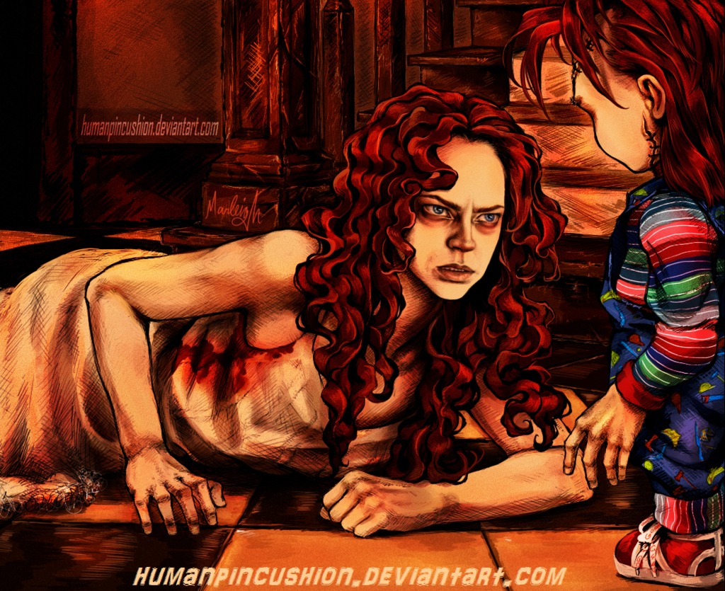 Some of my Child's Play fan art. (new&) Happy... | Chucky ...