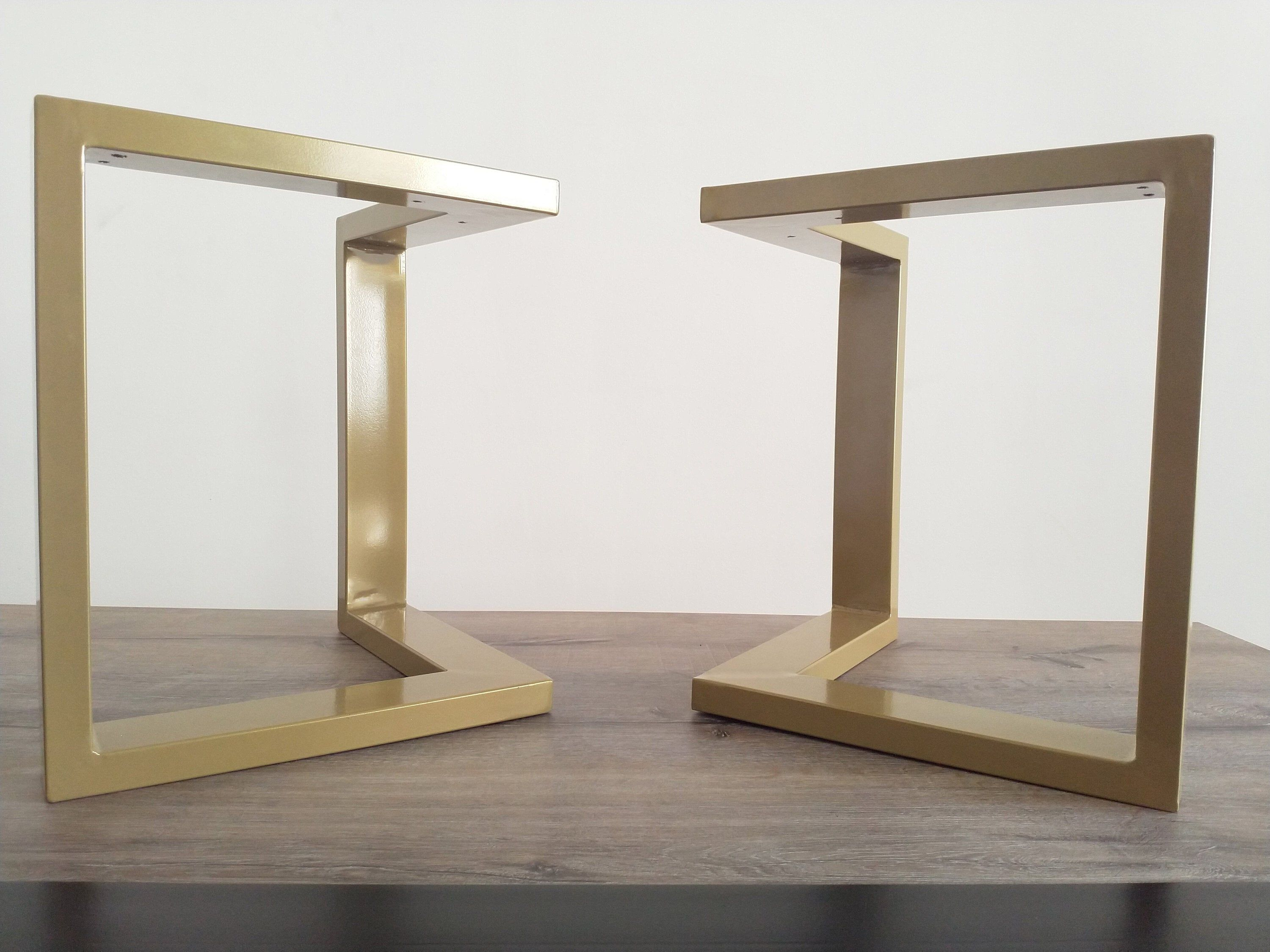 coffee table legs coffee table base Bench legs SET OF 2 bench base