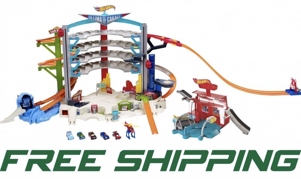 Hot Wheels Ultimate Car Wash Garage Playset Free Shipping Ebay