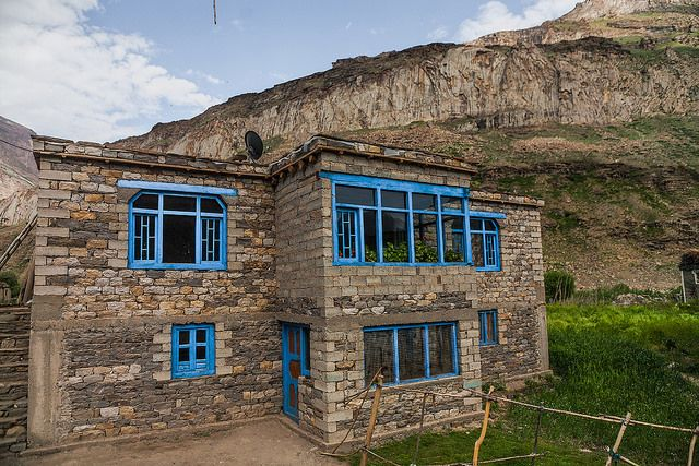 Posh house in Parkachik, Suru valley