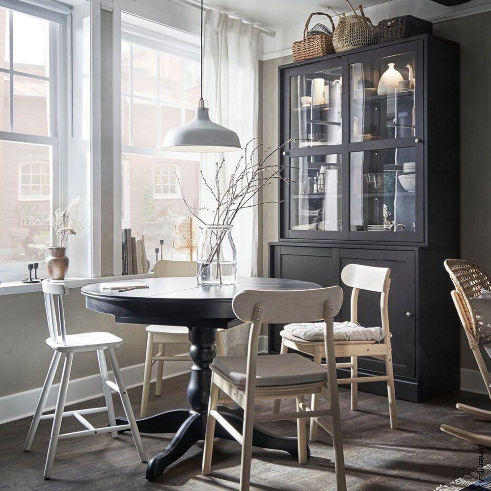 Ikea Deutschland On Instagram Alle Auf Augenhohe Am Runden Tisch Ingatorp Meinikea Ikea Dekoliebe I In 2020 Runder Esstisch Kleine Wohnung Rundes Esszimmer