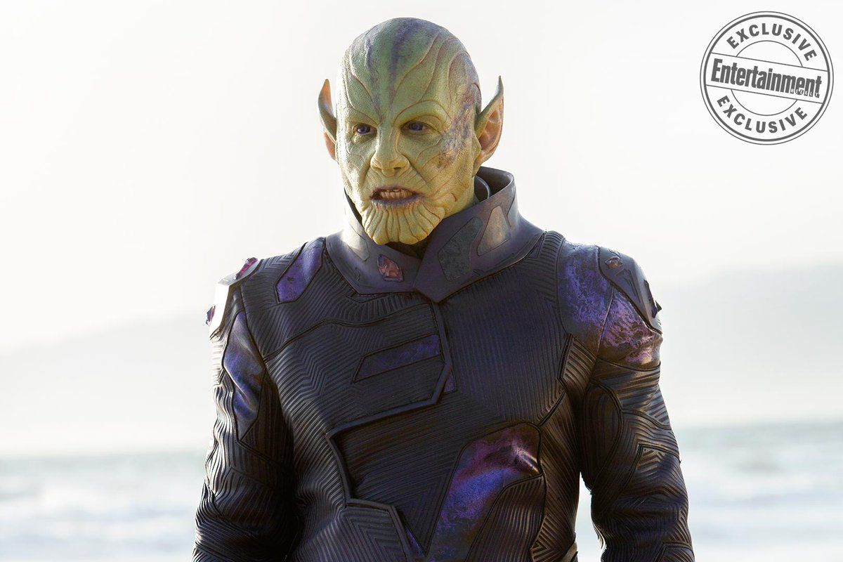 Captain Marvel    Talos Skrull   Captain marvel, Marvel, Marvel ...