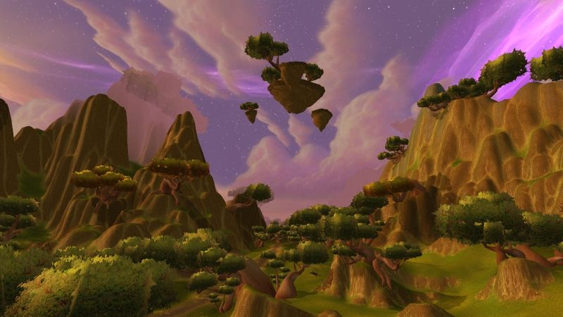 Preview Wow Outlands Nagrand Wallpaper Download Wallpaper Free Hd Wallpapers Fantasy World World of warcraft wallpaper engine