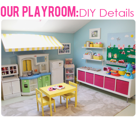 The Busy Budgeting Mama: Our Playroom Reveal   DIY Details U0026 Storage  Solutions!