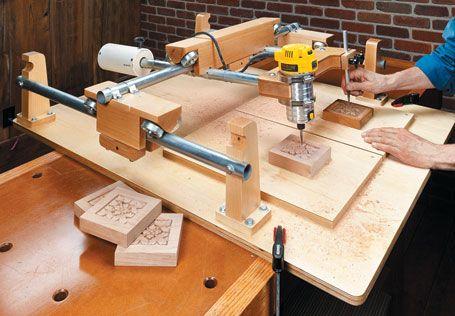 Duplicador router para madera