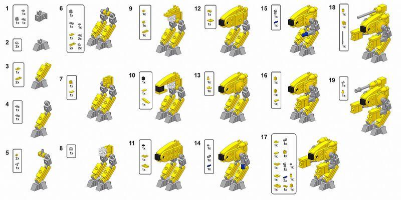 Marauder Instructions Lego Instructions Lego Instruction