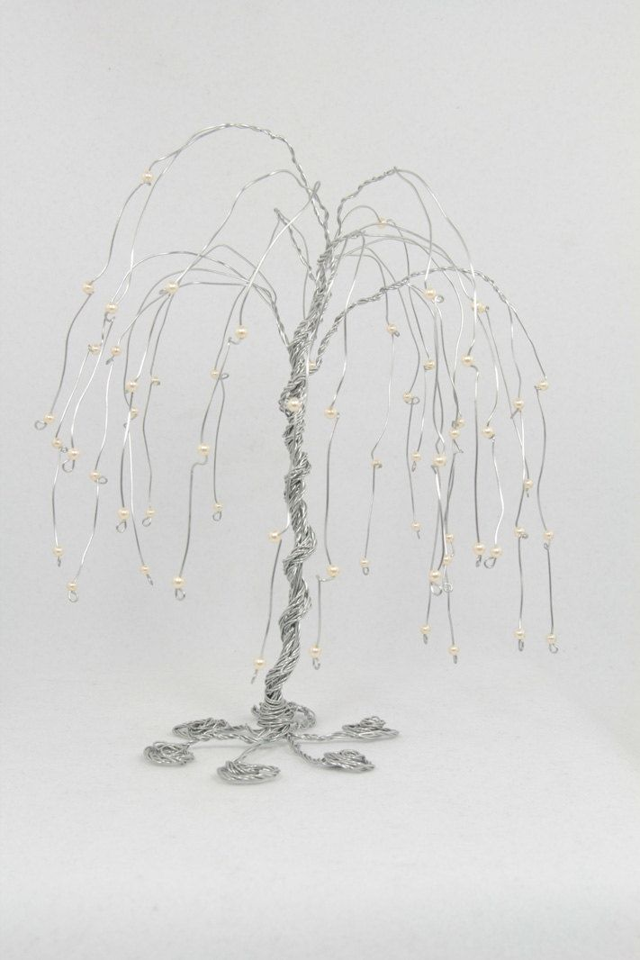 Weeping Willow Tree Wire Sculpture Has To B 16 Guage Or Smaller.