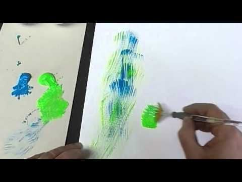 Youtube Tuto Pinceaux Watercolor Brushes Watercolor Art