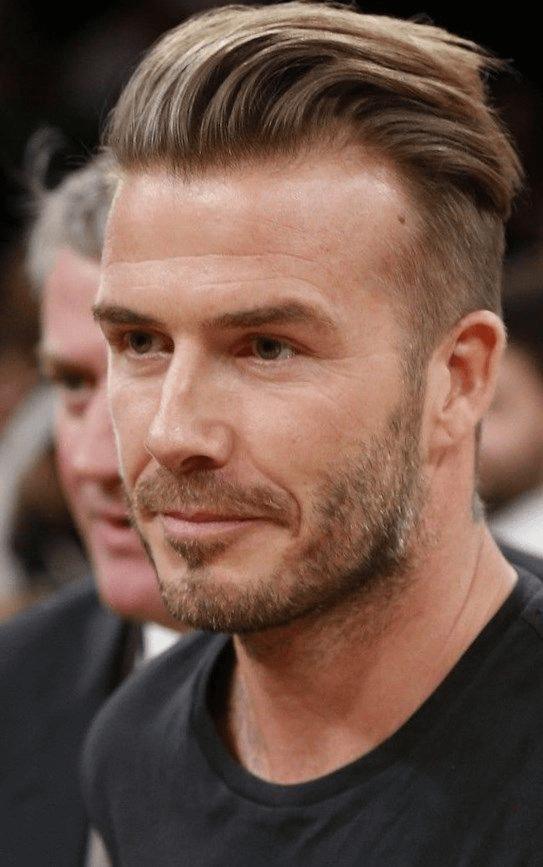 Mnnerfrisuren David Beckham Undercut Frisuren Mnner