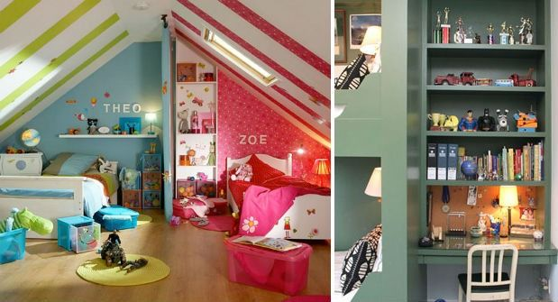 "Decorating One Bedroom for Two Kids is part of Small bedroom For Two - Decorating one room for two kids can be a design challenge, but we'll help you pass the finish line in flying colours  Our innovative design tips and creative space solutions will ensure both of your little ones' happiness in their charming bedroom  Image via www cococozy com Forget FengShui Forget all those books you read on … Continue reading ""Decorating One Bedroom for Two Kids"""