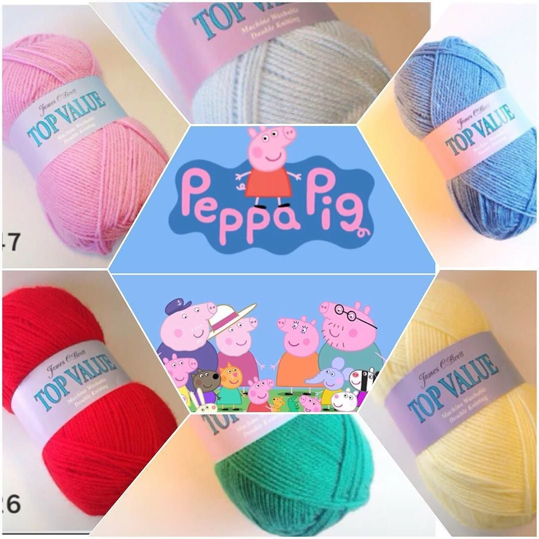 One for the kiddies some Peppa colour inspiration.  by luvwul
