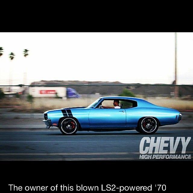 youngmayne1 70 chevelle side rally stripes blue. asanti wheels lsx