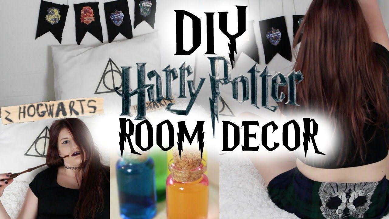 Diy Harry Potter Room Decor Home Theater Accessories Pinterest