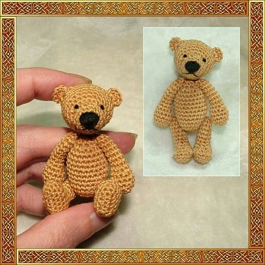 Mini Teddy | Crochet : Amigurumi & Key-Chains | Pinterest ...