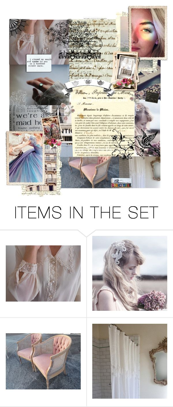 """...Cause the garden walls grew quick, Before you know, you're outside of it, And the ivy's coming in, It's so beautiful if you can find it..."" by dancing-dreams ❤ liked on Polyvore featuring art and vintage"