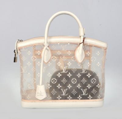 d8959c9b453 Louis Vuitton transparent lockit bag  1