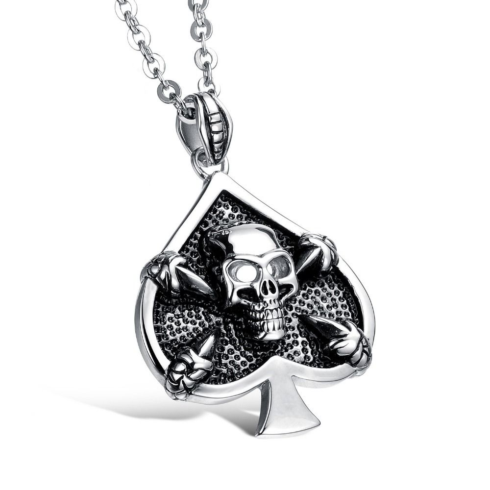 Click to buy ucuc skull punk style xcm skull in