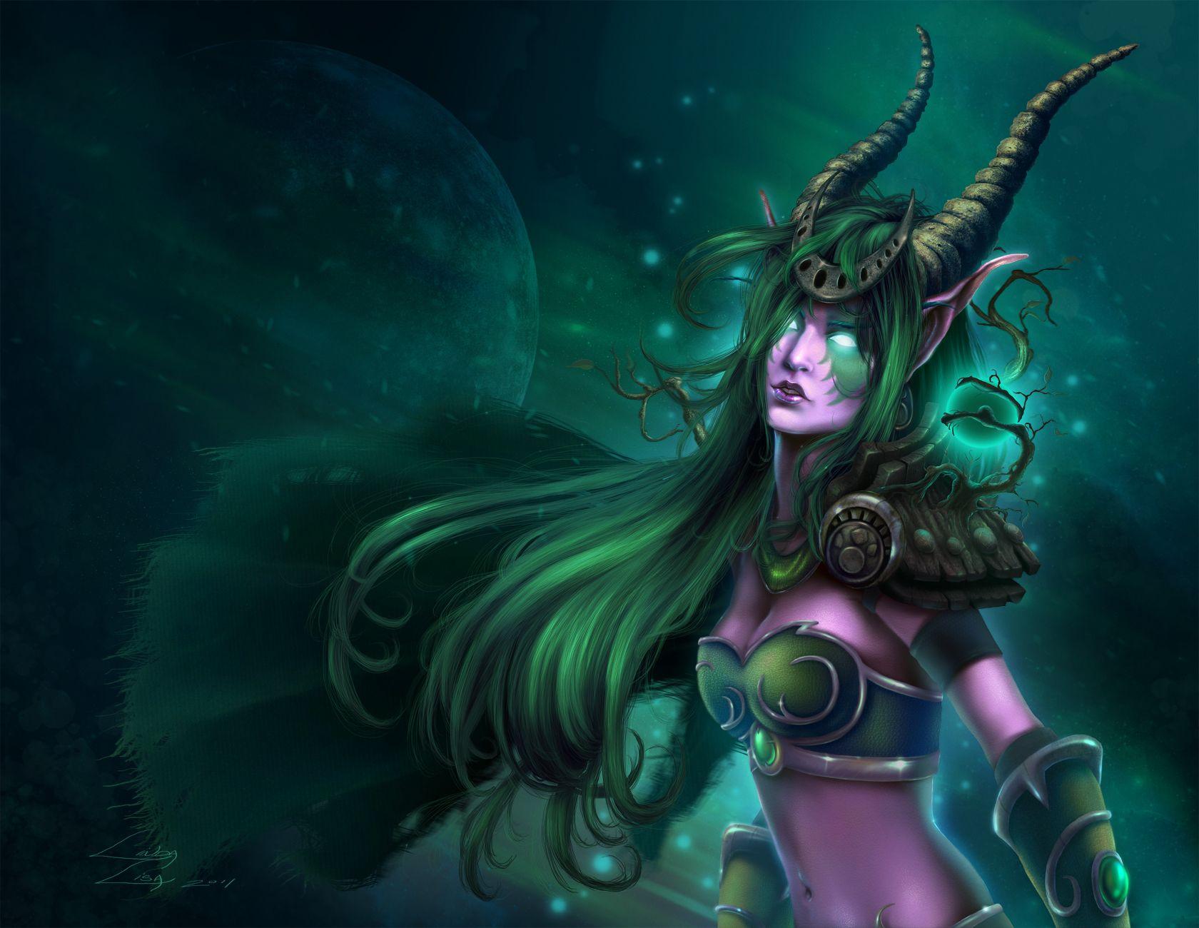 Congratulate, World of warcraft night elf