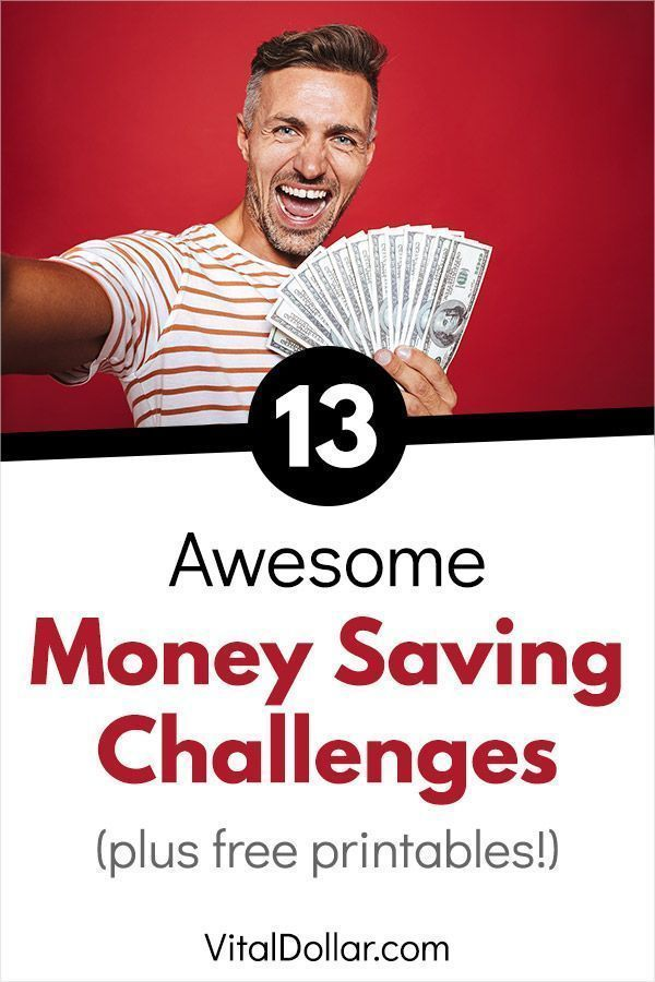 13 Awesome Money Saving Challenges #financenestegg Use these fun money saving challenges to build up your nestegg. A challenge can help to give you structure so you know how much money you need to save each day, week, or month. You can use these challenges to set up an emergency fund, pay off debt, save for retirement, save for a house, or anything else. There are also free printables that you can download! #savemoney #savingmoney #save #money #budget #budgeting #finance #personalfinance #financ #financenestegg