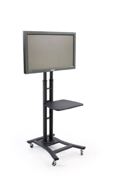 Mobile Tv Stand For 32 To 70 Inch Flat Screen Monitor Height