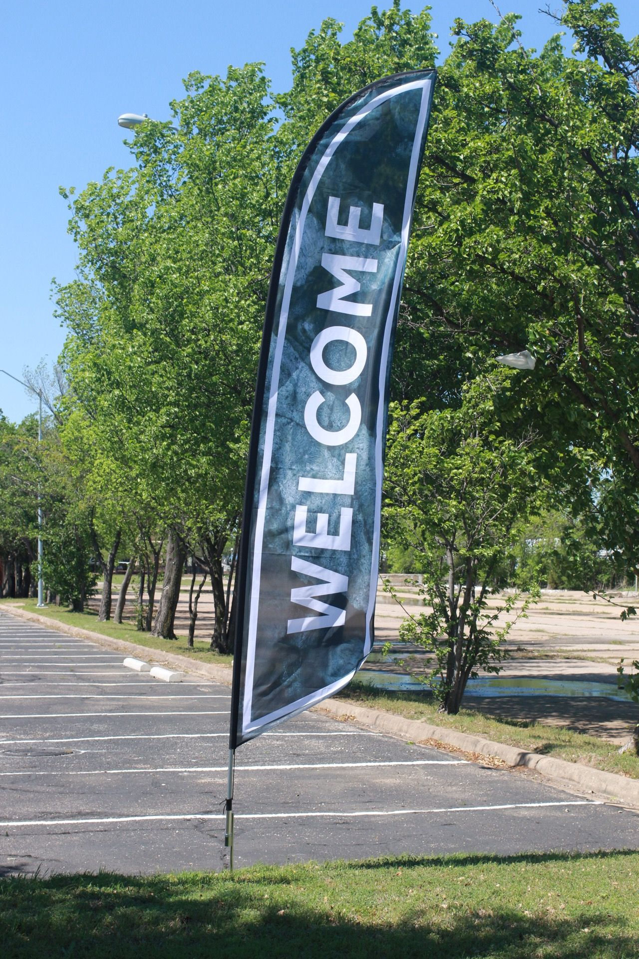 Outdoor Feather Banners