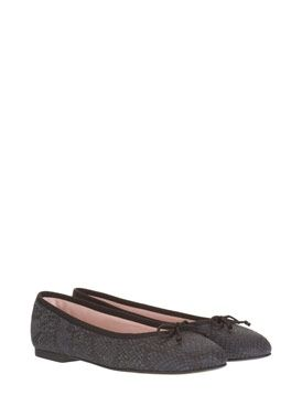 Black Snakeskin Ballet Pumps mint velvet. My new favourite brand