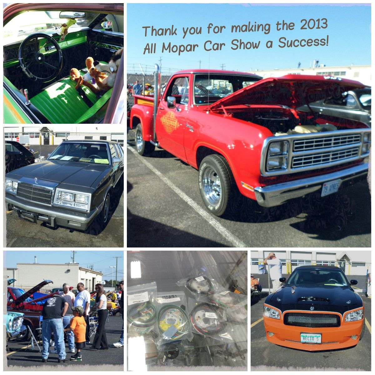 Thank You For Helping To Make Our 2013 All Mopar Car Show A
