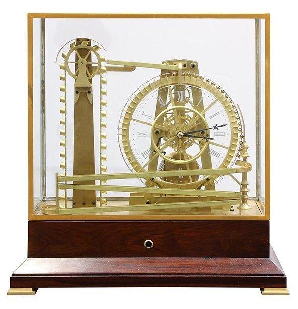 French Mystery Water Wheel Ball Bearing Industrial Mar 20 2016 Clars Auction Gallery In Ca Water Wheel Industrial Clocks Clock