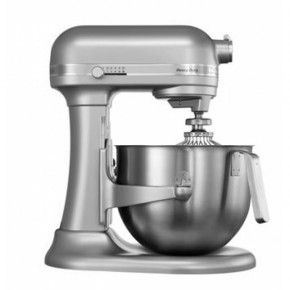 Kitchenaid S Most Ful And Quietest Mixer Has A Stainless Steel Bowl With J Handle Which Allows For Control Of Heavy Loads Pouring Shield
