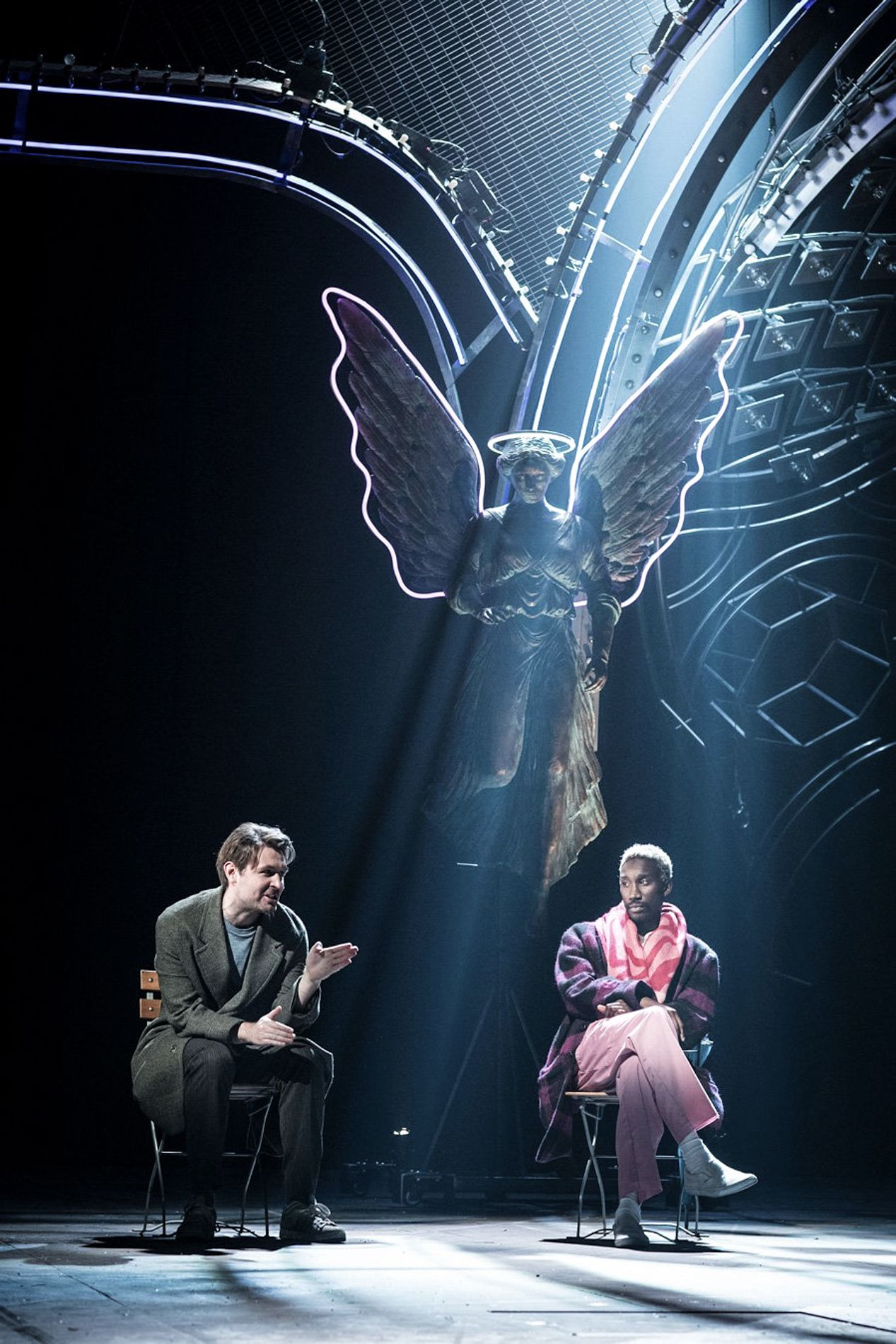 Image Result For Angels In America National Theatre Ghost Light