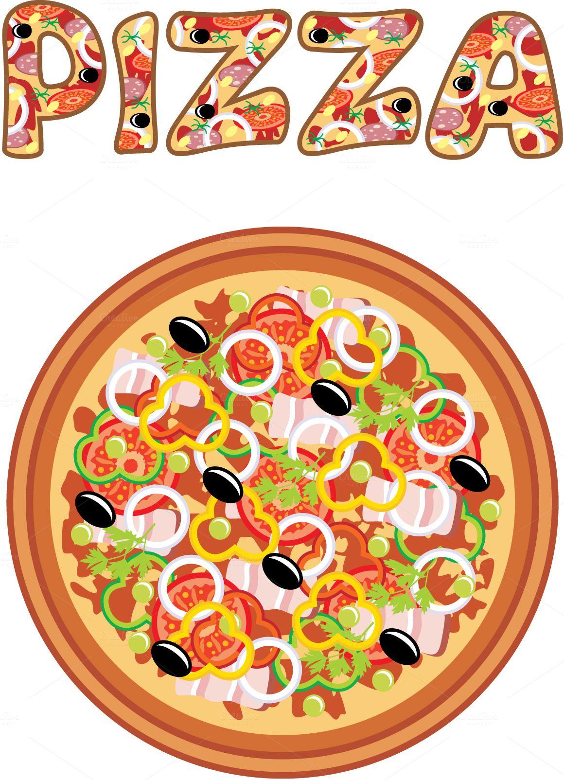 Illustrations Product Images Pizza Festa Da Pizza Noite Da Pizza Dia Da Pizza
