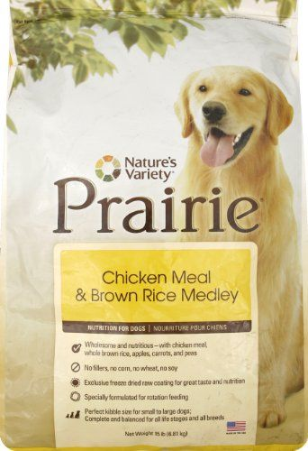 32 22 25 49 Nature S Variety Prairie Brand Dry Kibble Diets Are