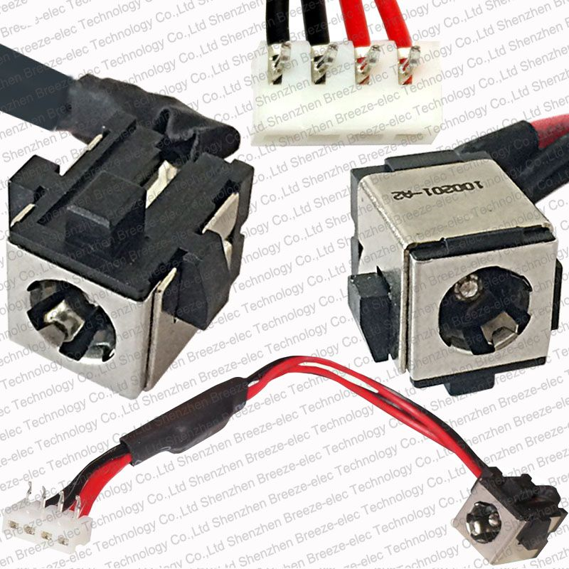 Check Discount 100% Tested New Laptop DC POWER JACK w/ socket ...