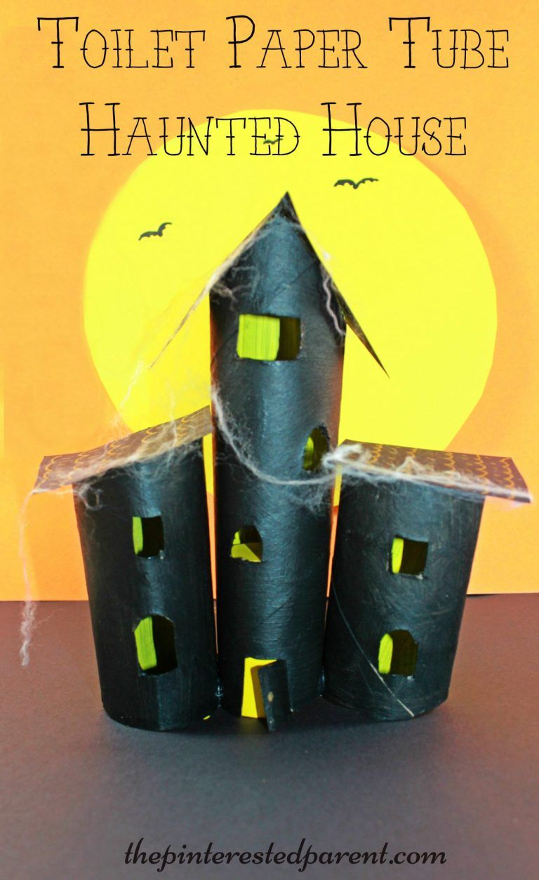 Cardboard Tube Haunted House – The Pinterested Parent