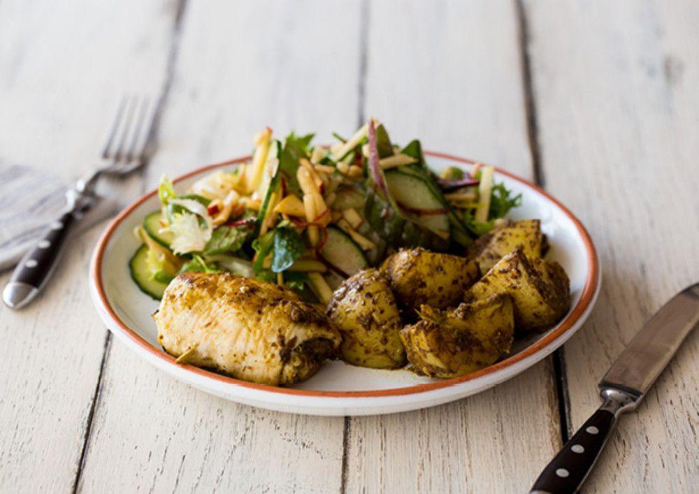 Zin in kip? In 30 minuten bereid je dit heerlijke gerecht voor 4 personen. Perfect voor een gezellige avond met vrienden of familie.