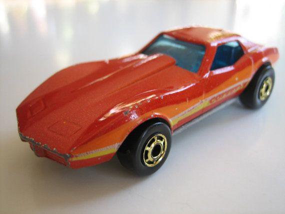 Hot Wheels Toy Car 1982 Corvette Stingray Etsy Hot Wheels Cars Toys Hot Wheels Toys Toy Car