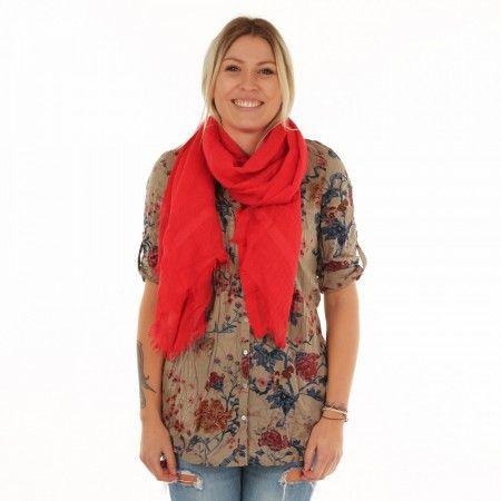LOVE QUOTES Damen Schal rot (mit Bildern) | Roter schal