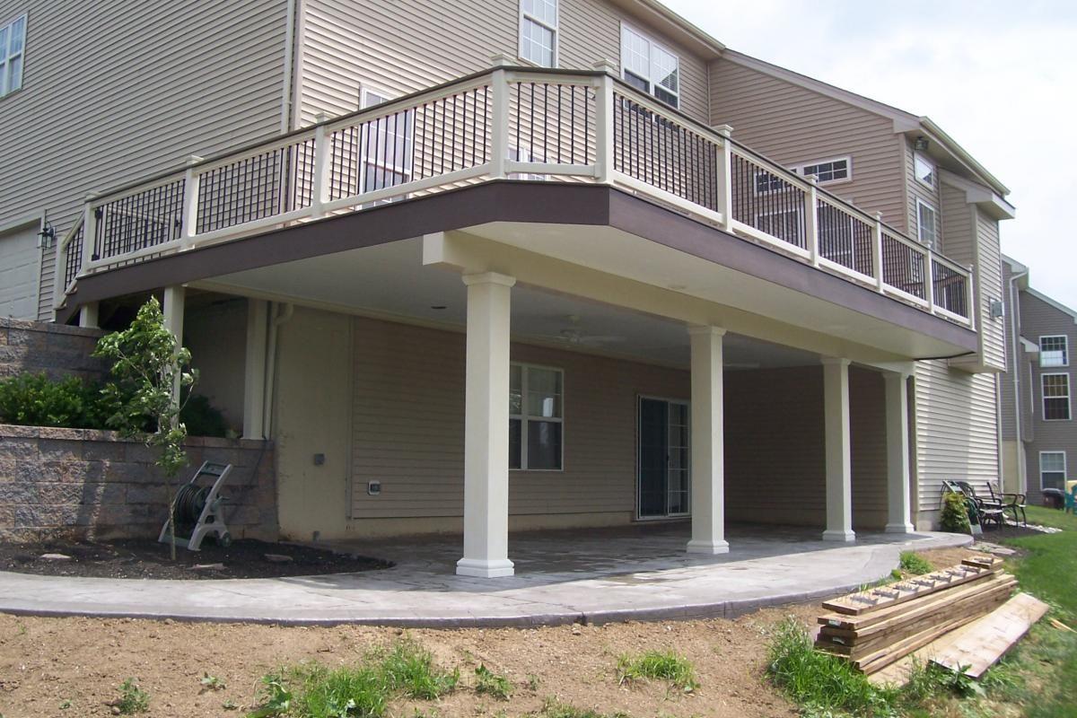 Under deck patio ideas deck porch screen room under for Under porch ideas