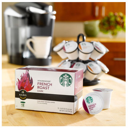 Starbucks Coupon Code Buy 1 Box of KCups Get 1 FREE