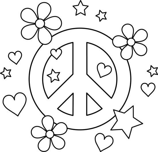 Colorable Peace Sign Design Peace Sign Art Love Coloring Pages Coloring Pages