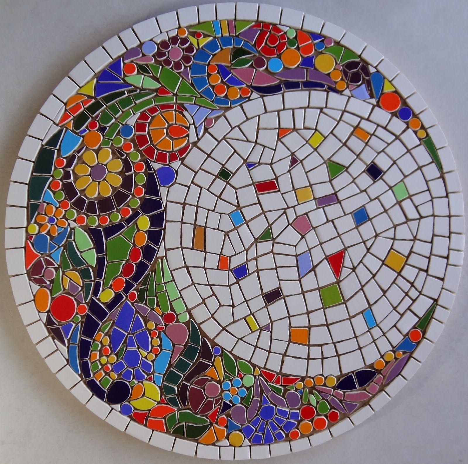 Рисунок для мозаики из плитки
