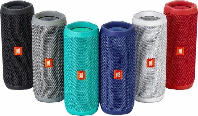 jbl flip 4 speaker for portable use wireless blue