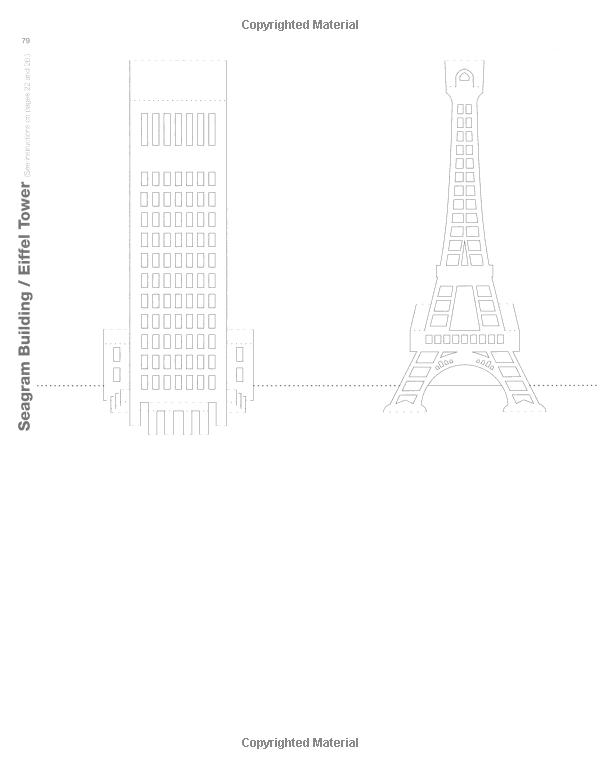 eiffel tower model template - eiffel tower kirigami card pop up pinterest kirigami