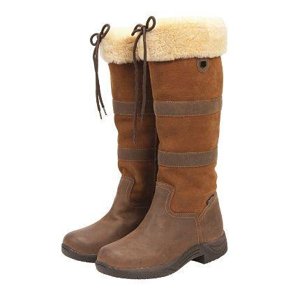 2c86b771839e0 Dublin Ladies Eskimo River Fleece Boots and Tall English Winter ...