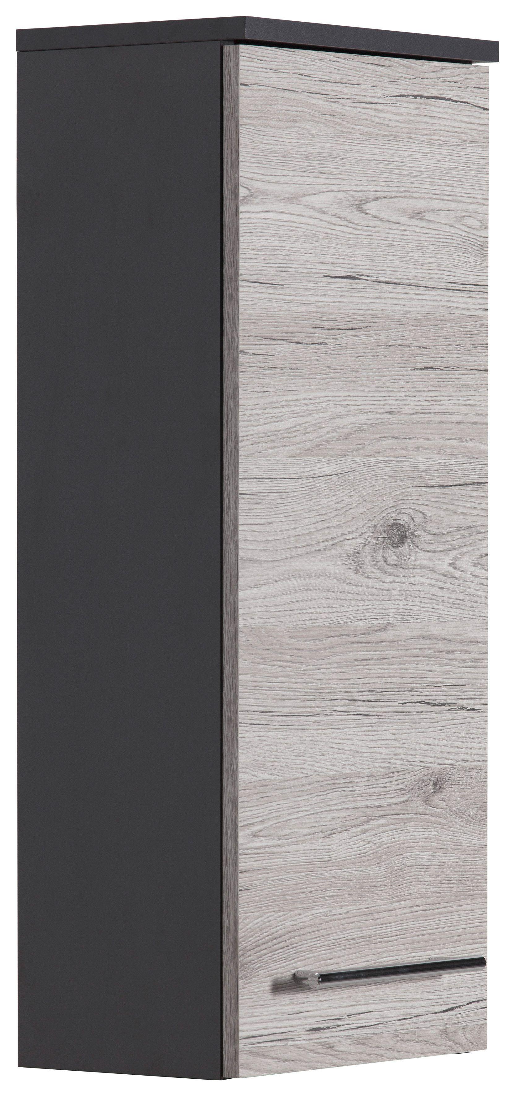 Kesper Hangeschrank Grau Breite 30cm Nora Soft Close
