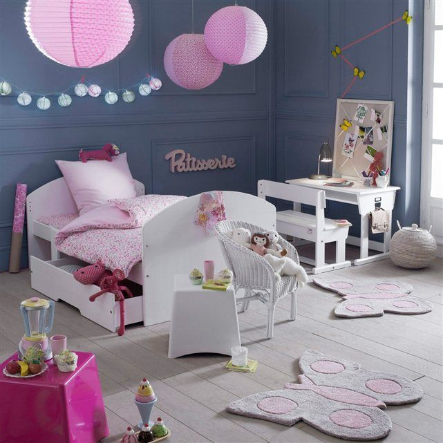 lit enfant extensible 3 positions pin massif toudou la. Black Bedroom Furniture Sets. Home Design Ideas