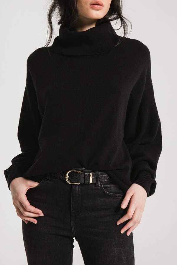 Fort Green Oversized T-neck Sweater