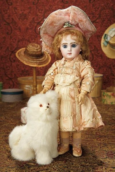 The Memory of All That - Marquis Antique Doll Auction: 78 French Bisque Bebe Jumeau, Size 6, Original Jumeau Costume, Signed Bebe Jumeau Shoes