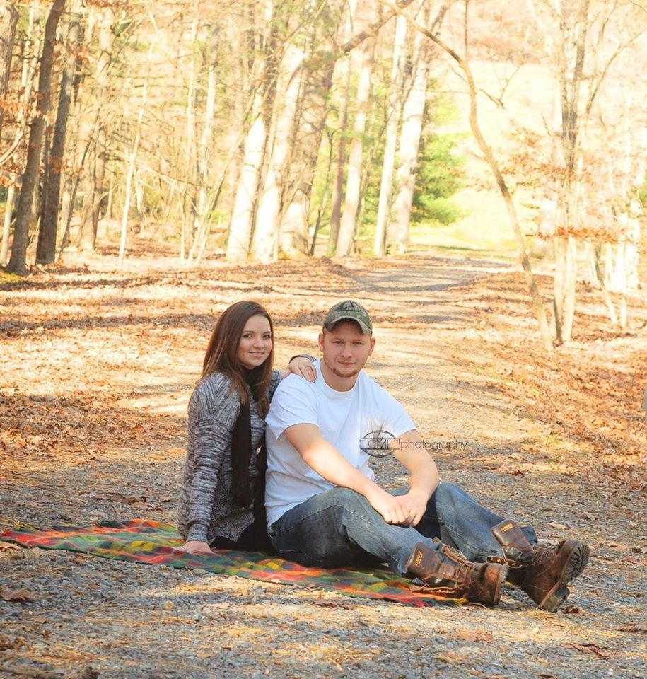 Fall Engagement Douthat State Park, Virginia
